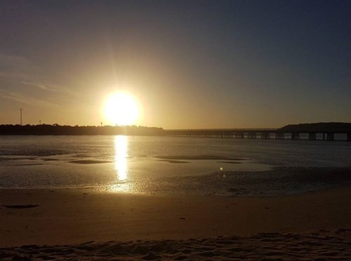 wsuppaddle sunrise Barwon Heads
