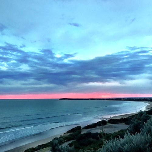 Sunset Ocean Grove