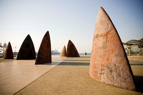North sculpture Geelong