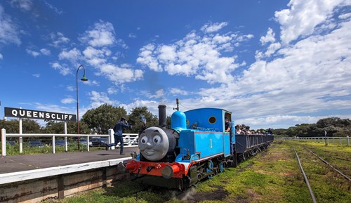 Thomas Train in Queenscliff